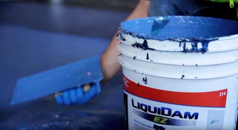 LiquiDam EZ Moisture Vapor Barrier by TEC Allows for Shorter Installation Time